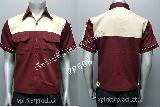 ชุดยูนิฟอร์มบริษัท ขายเสื้อช้อบ เสื้อช่าง ผ้าคอมทวิว ราคาถูก