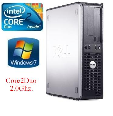 ราคา DELL Dell Core2Duo 2.0Ghz/Ram1G/HD160G/DVD-COMBO